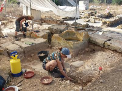GSD Marketing Ltd supports the University of Malta during the archaeological excavations at the Zejtun Roman Villa